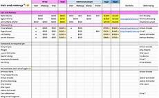 Wedding Costs Spreadsheet Wedding Cost Spreadsheet Template Spreadsheet Downloa