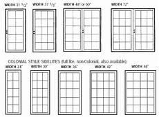 Exterior Door Sizes Chart What Is The Standard Size Of Doors And Windows Quora
