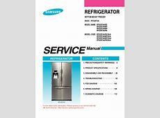 LG French Door Bottom Freezer Refrigerator Service Manual