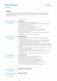 Area Manager Resumes Area Manager Resume Samples And Templates Visualcv