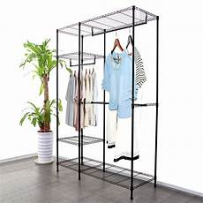new wardrobe clothes rack garment hanging rack rail wire