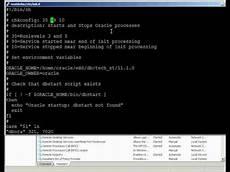 Start Database Oracle Automating Database Startup On Linux And Windows