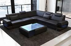 Couch Led Lights Antonio L Shape Sofa With Led Lights Sofa Dreams