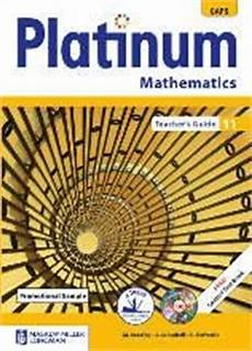 9780636137288 Platinum Mathematics Grade 11 Teachers Guide