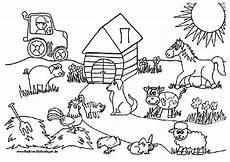 Malvorlage Bauernhof Kostenlos Bauernhof 2 Ausmalbilder Kostenlos