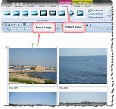 Photo Templates For Word Photo Gallery Add In Template
