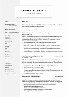 Resume Templates For Administrative Assistant Full Guide Administrative Assistant Resume 12 Samples