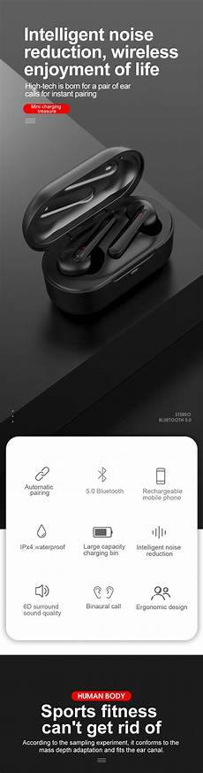 Bakeey Bluetooth Wireless 2600ma Power Bank by Bakeey Tws Bluetooth 5 0 Wireless 2600ma Power Bank