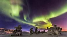 When Northern Lights Finland Northern Lights Aurora Borealis In Lapland Finland Time