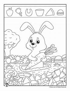 Malvorlage Tiere Einfach Easy Pictures With Animals Printable Activity Pages