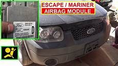 Ford Explorer Airbag Light Stays On Ford Escape Airbag Module Removal And Replacement How To