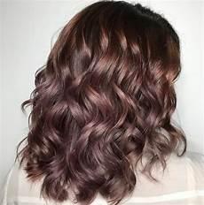 Light Brown Mauve Hair Chocolate Mauve Hair Autumn S New Colour Trend
