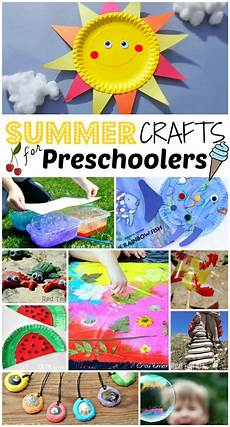47 summer crafts for preschoolers to make this summer