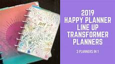 2019 Mini Happy Planner by 2019 Happy Planner Line Up Transformer Planner Style