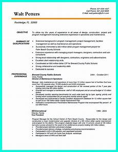 Project Manager Resume Objectives Cool Construction Project Manager Resume To Get Applied