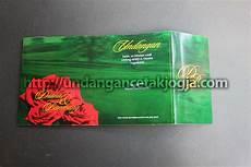 undangan murah warna hijau bunga mawar undangan cetak jogja