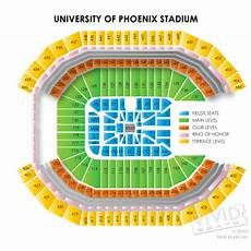 University Of Phoenix Concert Seating Chart University Of Phoenix Seating Chart And Event Tickets