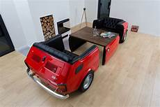 realisticstyle car furniture exclusive sofa fiat 126