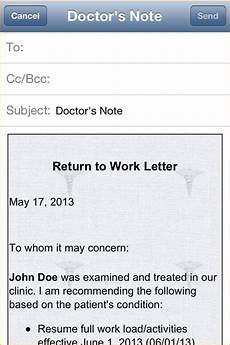 Make A Doctors Note Free Printable Doctors Excuse For Work Template Business