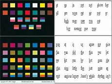 Sound Color Chart Silent Way In Learner Approach