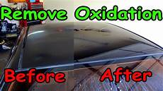 Light Oxidation On Car How To Remove Oxidation From Car Paint Youtube