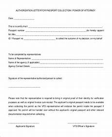 Power Of Attorney Letter Sample Authorization Free 57 Authorization Letter Samples In Pdf Ms Word