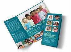 School Brochures Templates Elementary School Tri Fold Brochure Template