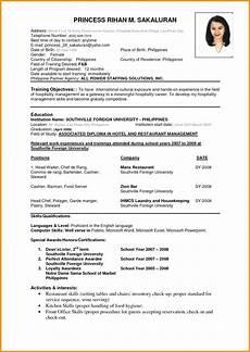 Nursing Resume Format M Sc Nursing Best Resume Format Resume Format Examples