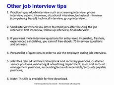 Post Interview Questions Canada Post Interview Questions And Answers