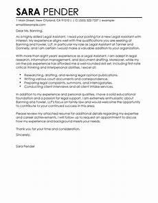 Cover Letter Sample For Program Assistant Best Assistant Cover Letter Examples Livecareer