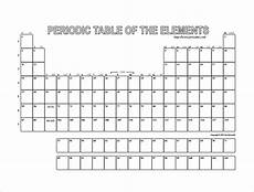 Periodic Table Template Free 7 Blank Table Templates In Ms Word Pdf