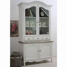 vetrine e credenze vetrina legno shabby chic mobili provenzali