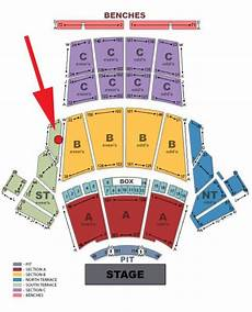 Greek Theater Seating Chart North Terrace 2 Tickets For The Monkees At The Greek Theater Los