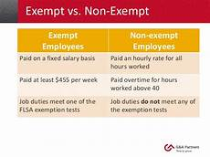 Definition Of Exempt Employees September Flsa Compliance Jll