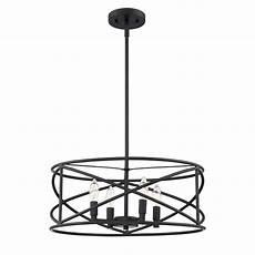 Cordelia Lighting Cordelia Lighting 4 Light Satin Bronze Chandelier 2591 34