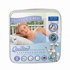 cotton quilted mattress protector king buddies