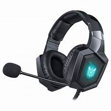Gaming Headphones With Lights Onikuma K8 Over Ear Bass Stereo Surround Gaming Headphone