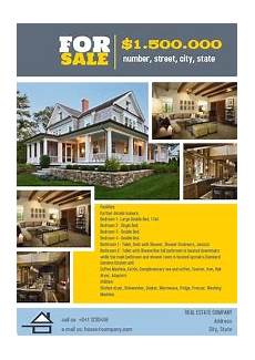 Home Sale Flyer Customize 2 020 Real Estate Templates Postermywall