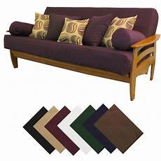 buy futon solid upholstery grade futon cover choose size color ebay