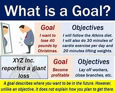 Example Of Goals Goal Definition And Meaning Market Business News