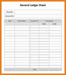 Ledger Template Free 6 Ledger Templates Free Ledger Review