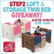 step2 loft storage bed giveaway ends 8 18 step2