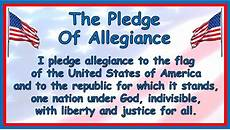 Another Word For Pledge Empowered By Them The Pledge Of Allegiance