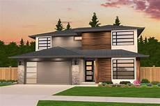 Home Design And Style Exclusive Two Story Prairie Style House Plan 85236ms