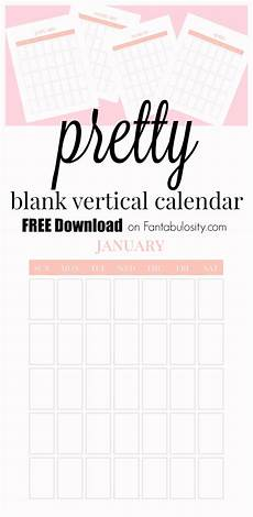 Writable Calendar Blank Calendar Free Vertical Monthly Calendar Printable