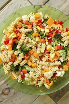 Recipes For Pasta Salad Summer Vegetable Pasta Salad Recipe
