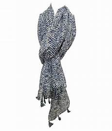 Cotton Yarn Price Chart India Swikar Multi Printed Poly Cotton Yarn Scarves Buy Online