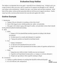 Easy Evaluation Essay Topics How To Write An Evaluation Essay Easy Steps With Examples
