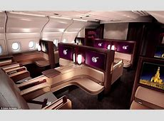 Qatar Airways A380 First Class suites come with caviar