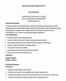 Entry Level Graphic Designer Graphic Designer Resume 7 Free Sample Example Format
